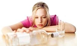 Žena alkoholik